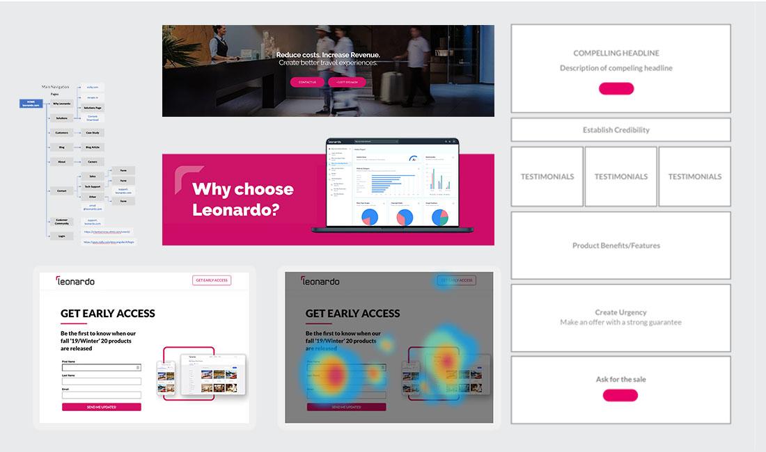 leonardo website low to hi fidelity
