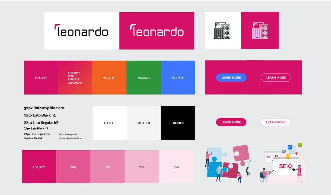 leonardo brand guidelines